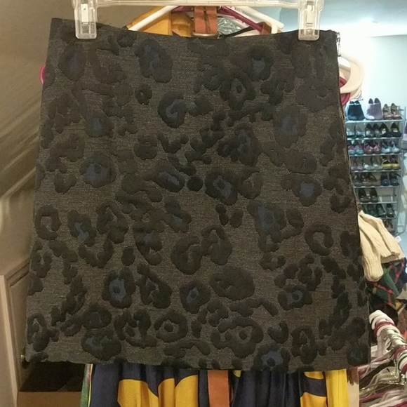 Ann Taylor Dresses & Skirts - Ann Taylor leopard skirt